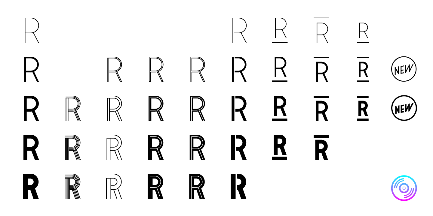 Stereonic Font Family