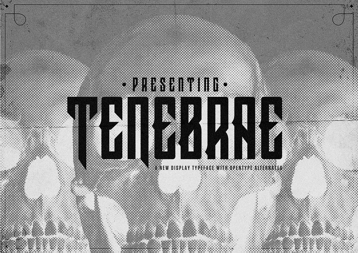 Tenebrae Typeface