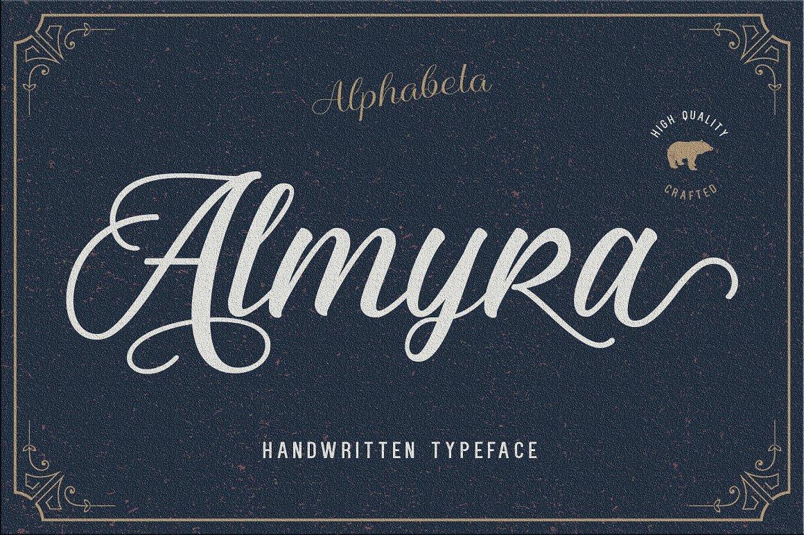 Almyra Script Font