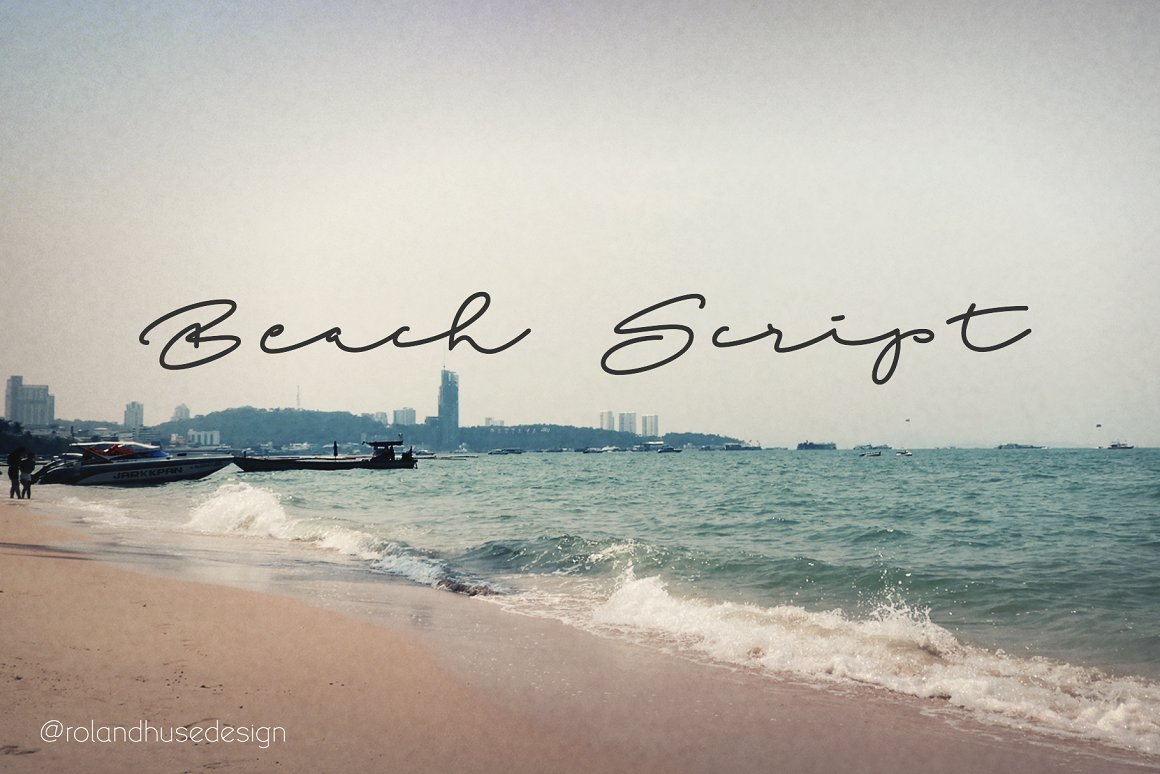 Beach Script Font