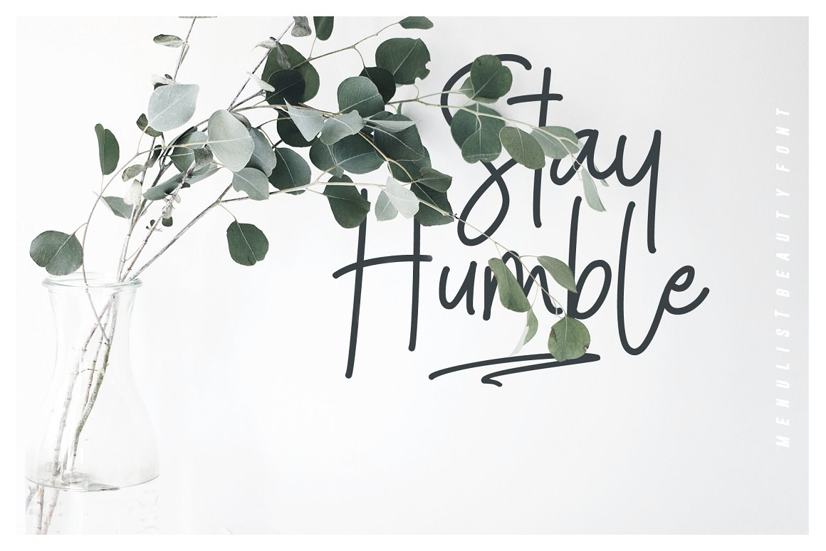 Menulist Beauty Handwritten Font