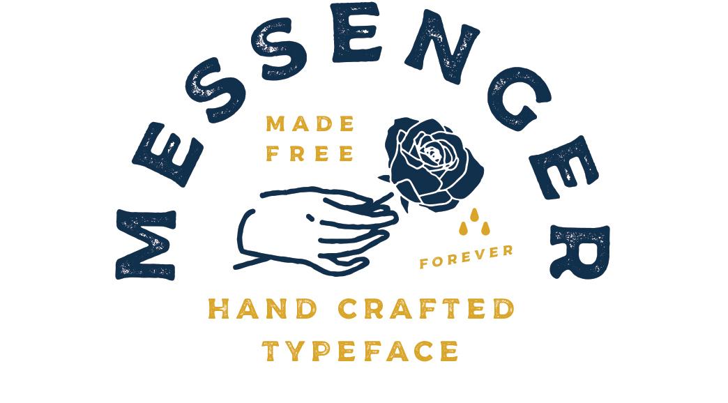 Messenger Typeface - Befonts com