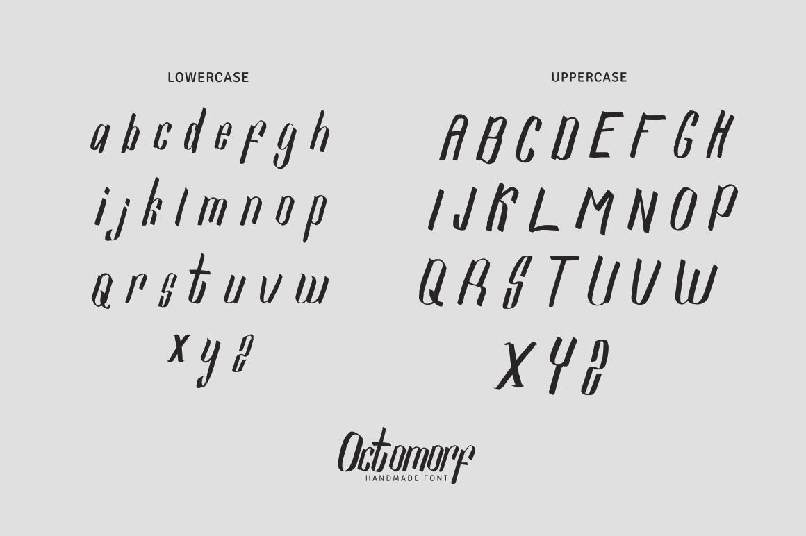 Octomorf Typeface