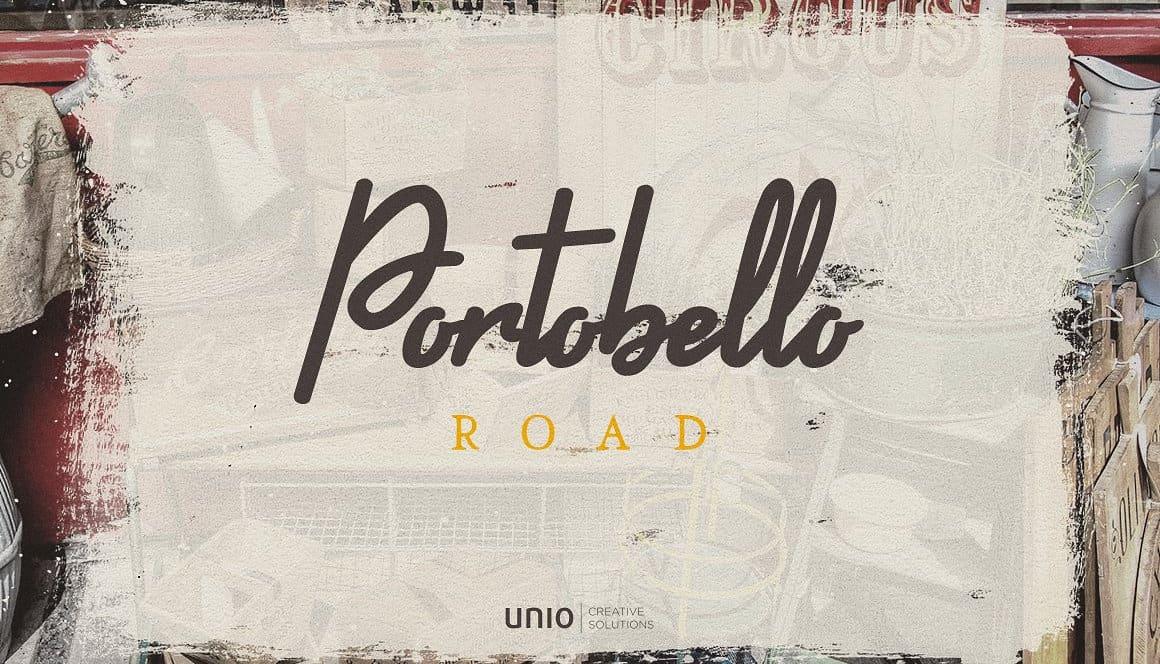 Portobello road font family befonts