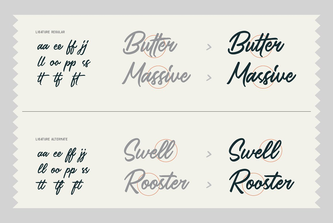 Saltery Brush Font