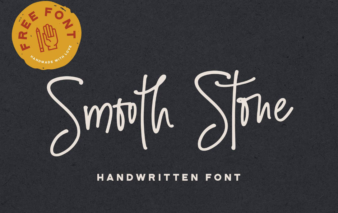 Smooth Stone Script Font