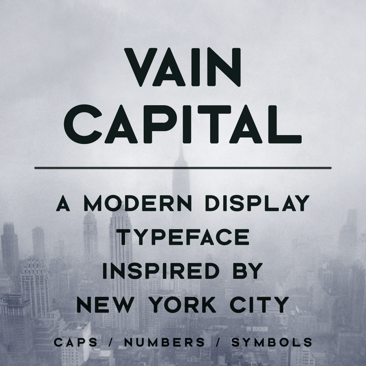 Vain Capital Typeface