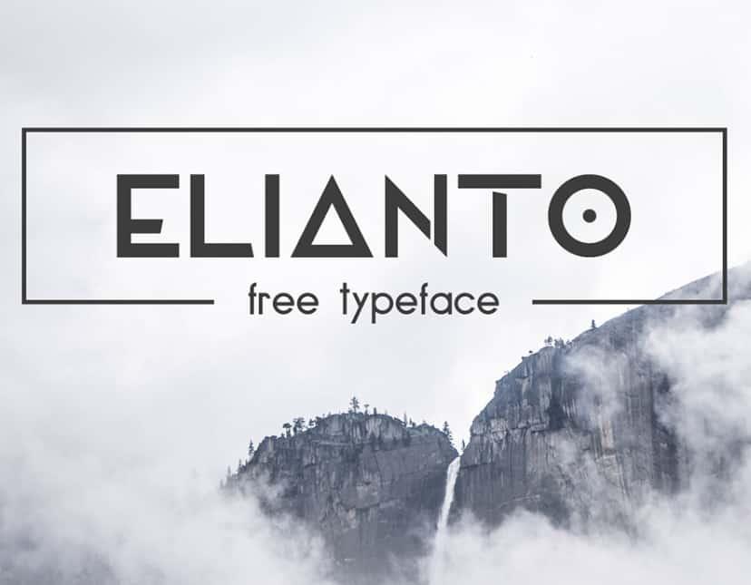 Elianto Font - Befonts com