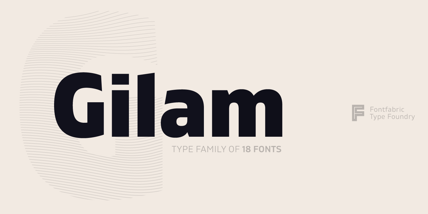 Gilam Font Family