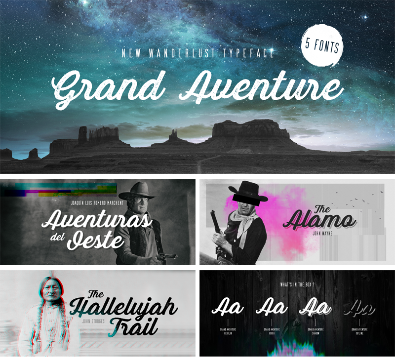 Grand Aventure Script Font