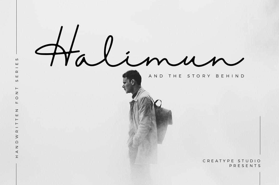 Halimun Script Style Font - Befonts.com