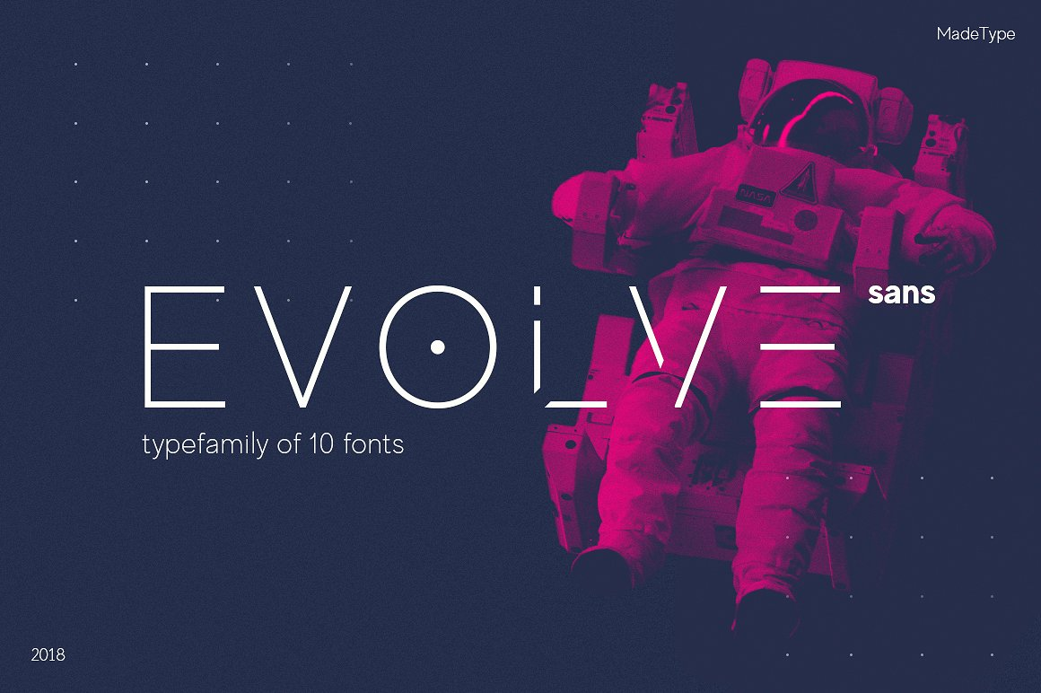 MADE Evolve Sans Font Family - Befonts com