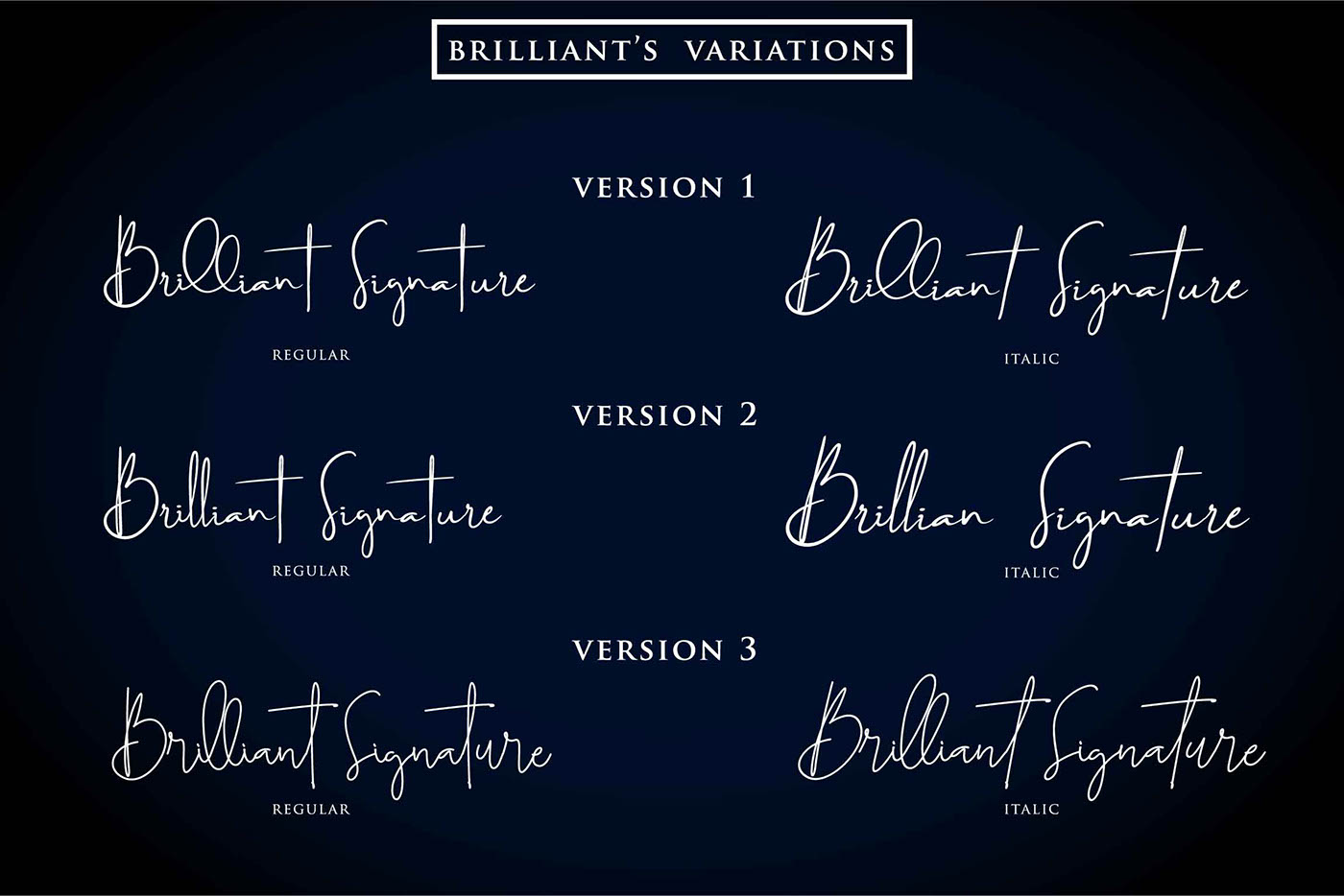 Brilliant Signature Font - Befonts com
