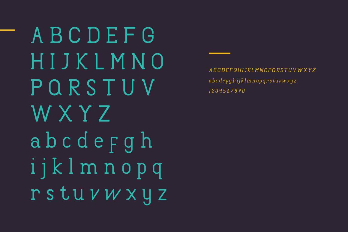 Canaal Slab Light Font