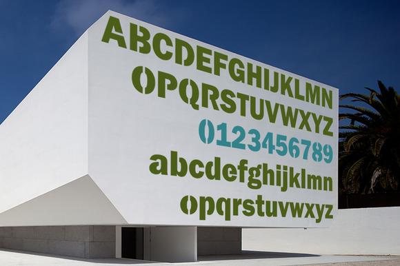 Cliché Typeface