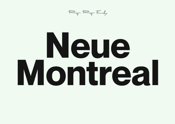 Neue Montreal Font Family - Befonts com