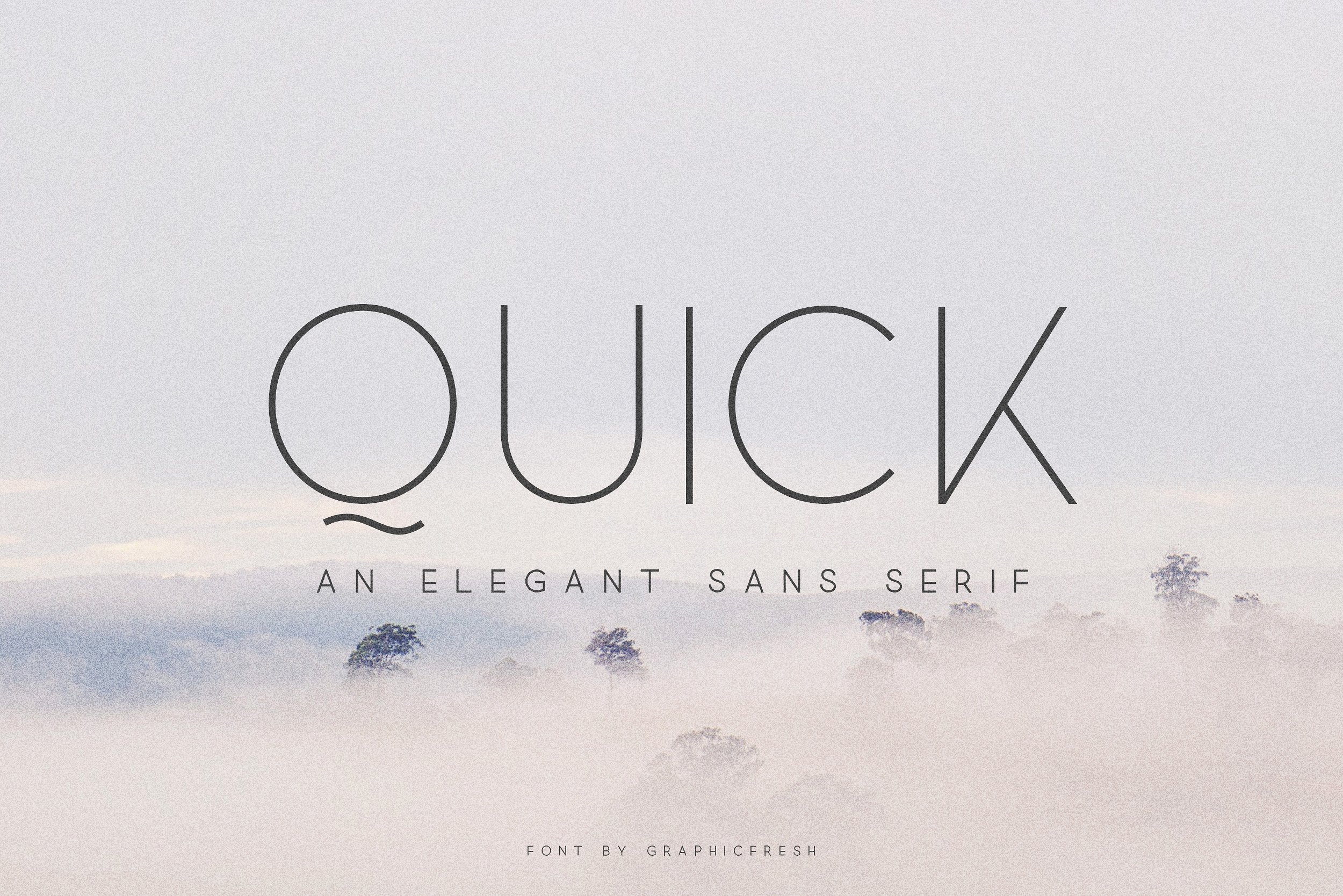 Quick font family befonts