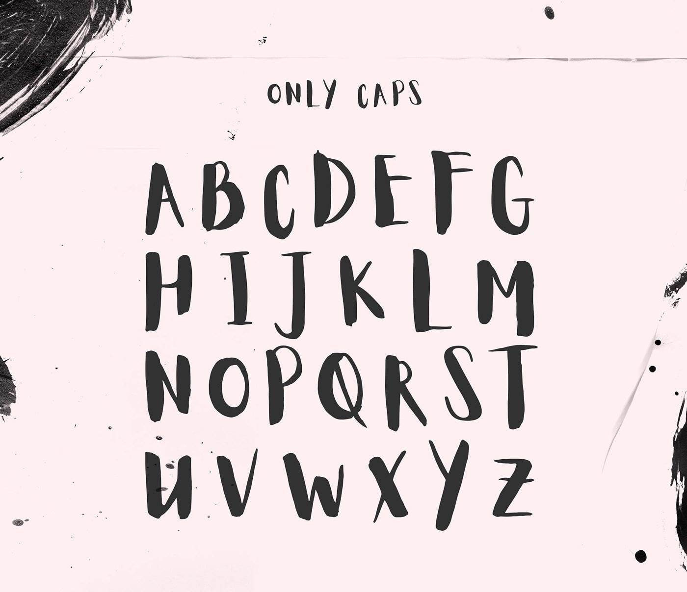 Aloja Handwritten Font