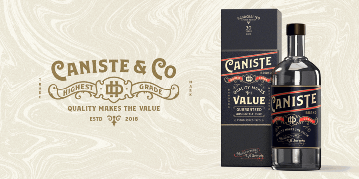 Caniste Font Family