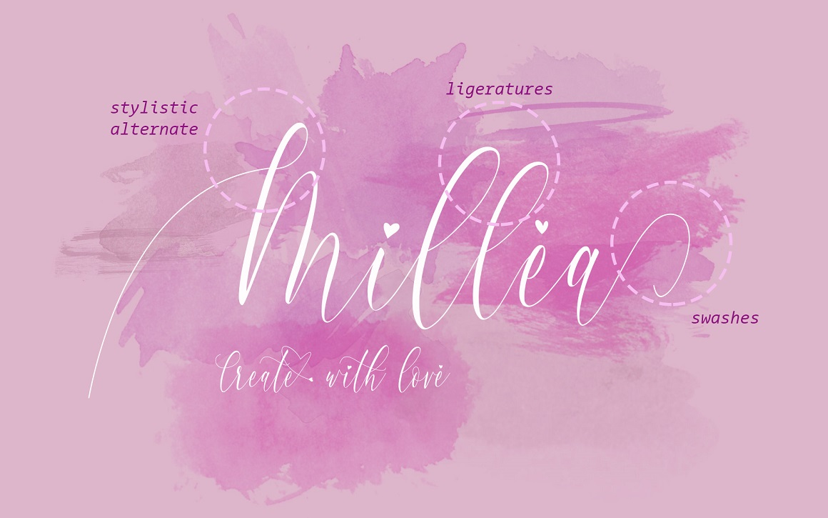 Charlotte Calligraphy Font
