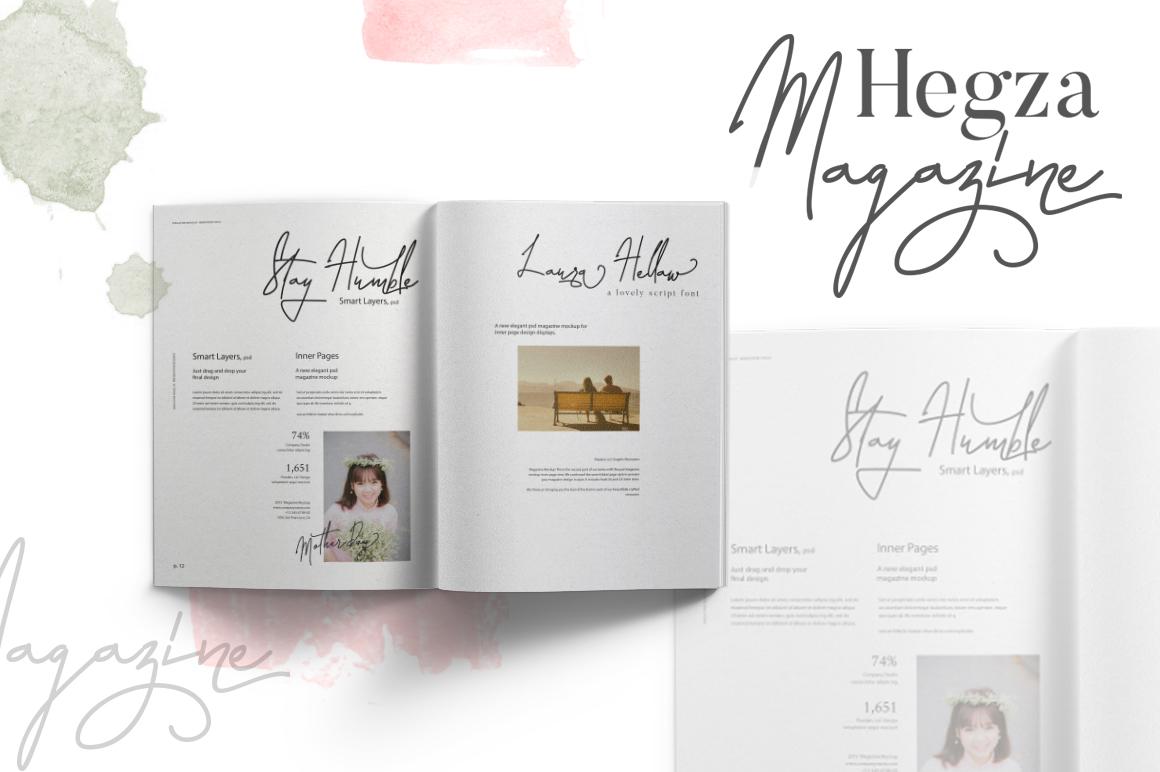 Laura Hellaw Script Font