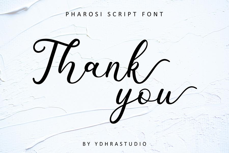 Pharosi Script Font