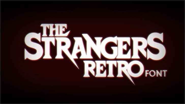 Strangers Retro Font