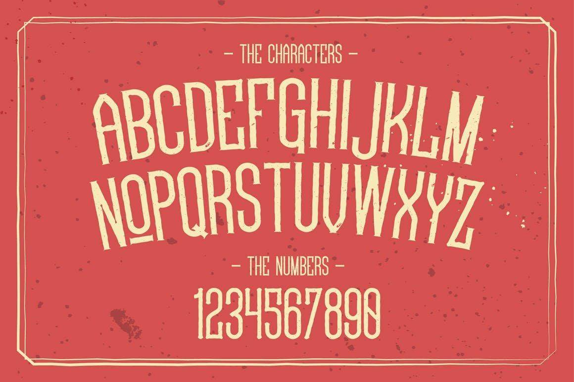 Astradjingga Rough Font