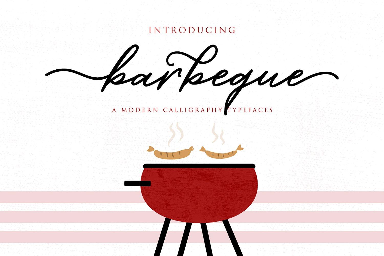 Barbeque Script Font - Befonts.com