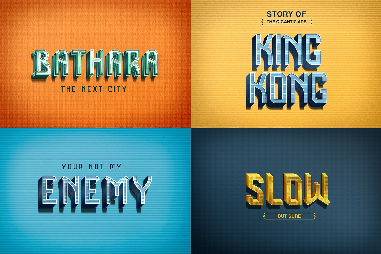 Benza Typeface