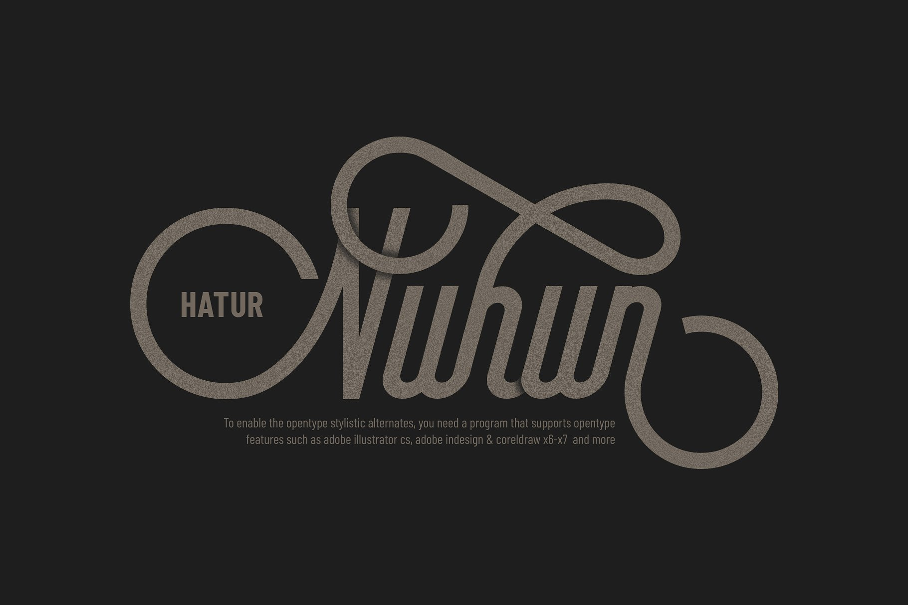 Brayline Typeface