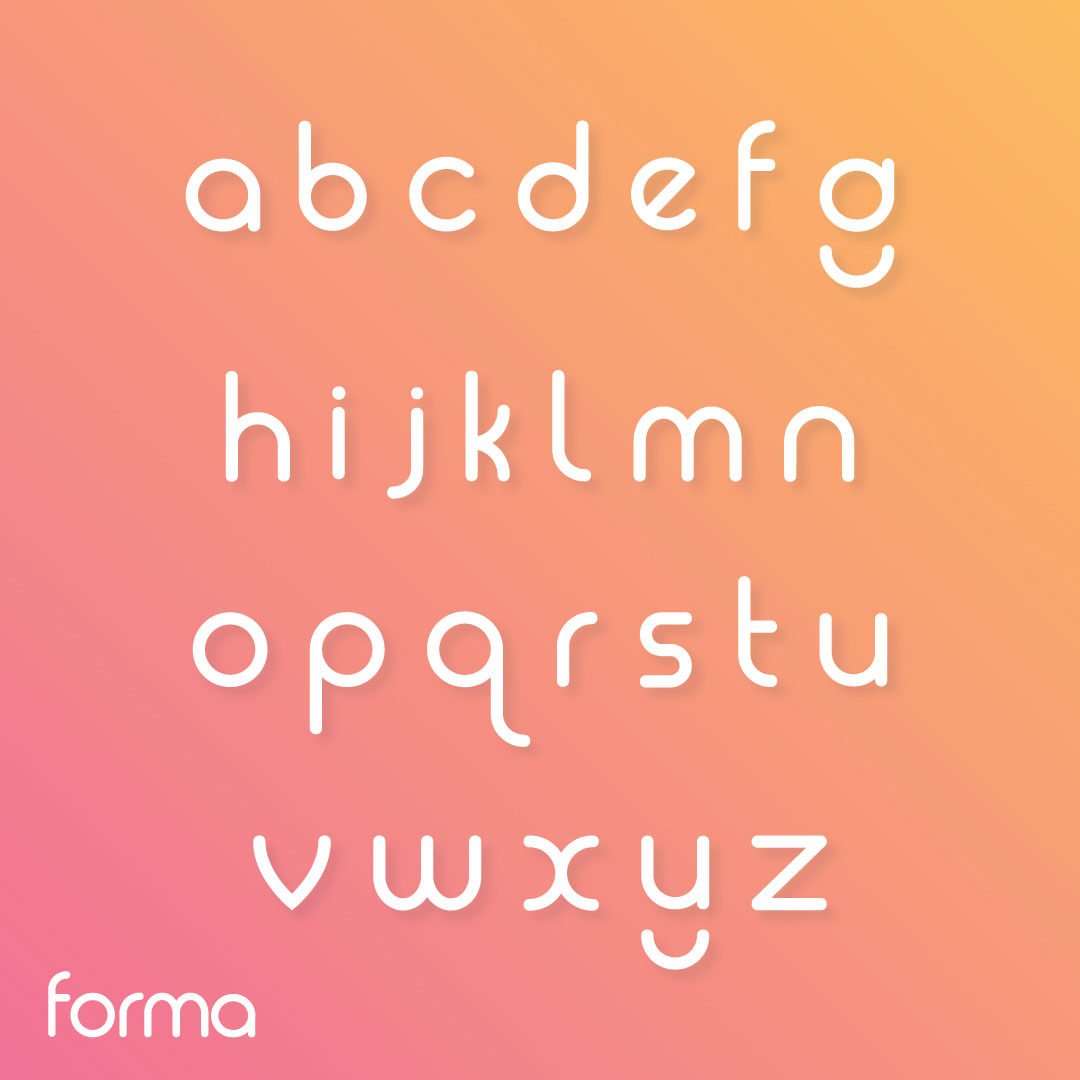 Forma Free Font