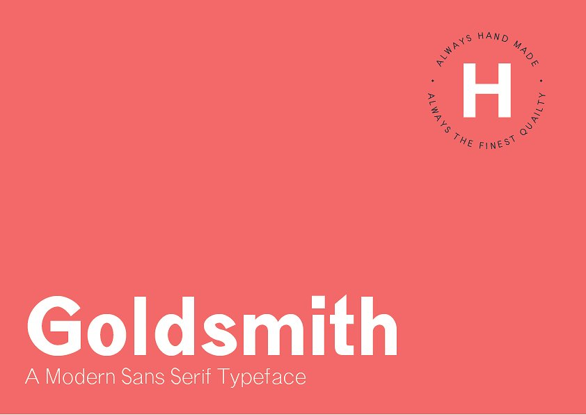 Goldsmith Font Family