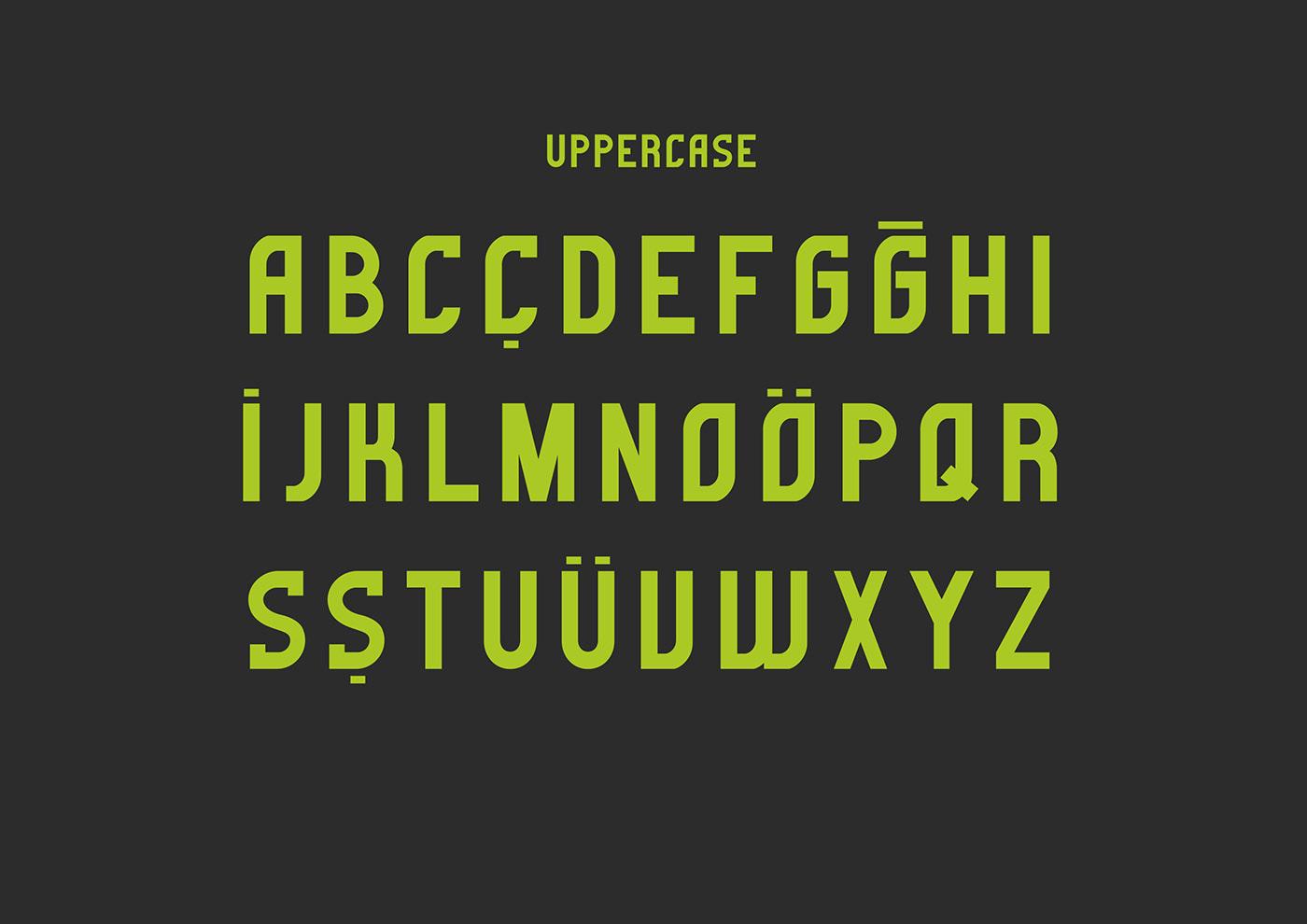 Gorem Typeface