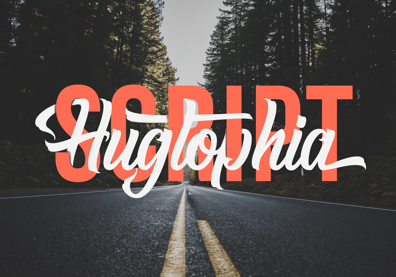 Hugtophia Script Font