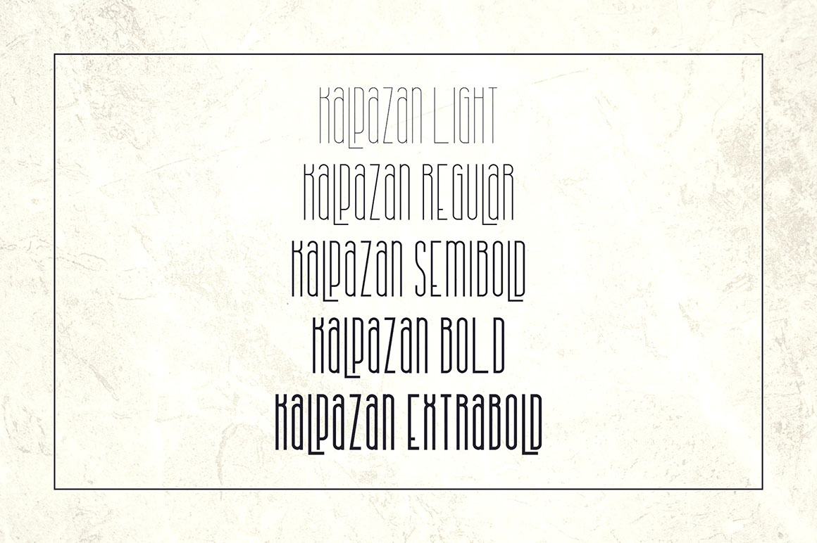 Kalpazan Font Family