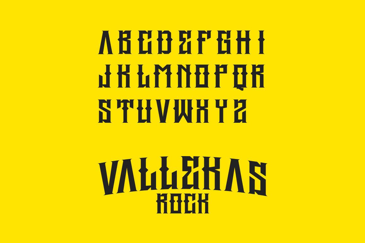 Rocker Typeface