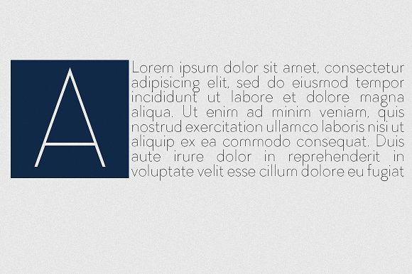 Arnold Thin Font