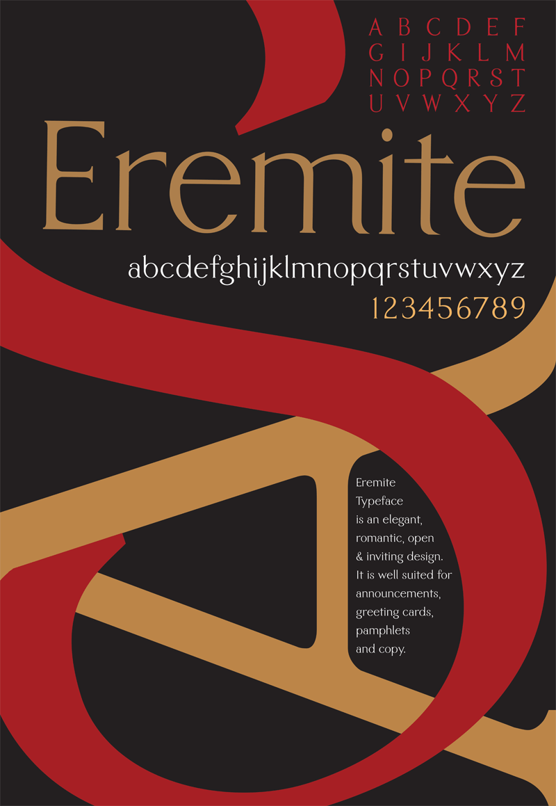 Eremite Typeface