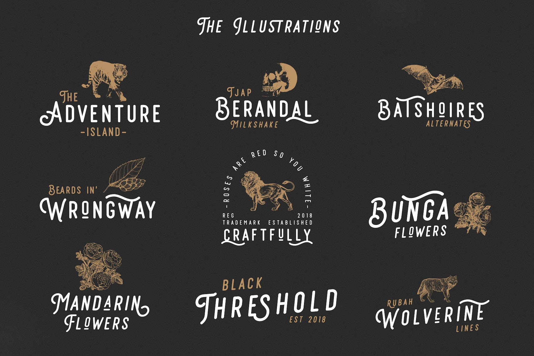 Retrocycles Typeface