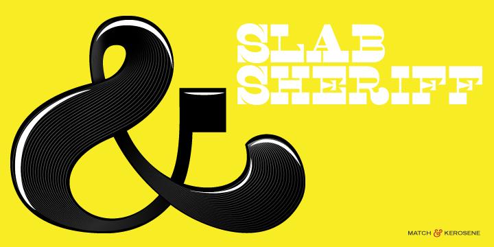 Slab Sheriff Font