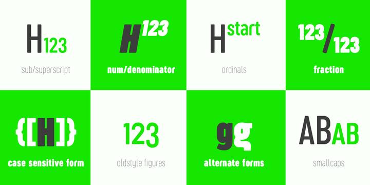 Sugo Pro Font Family