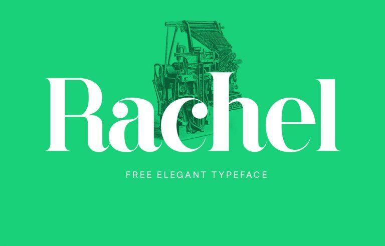 Rachel Typeface - Befonts com