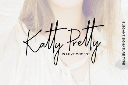 Katty Pretty Handwriting Font Befonts Download Free Fonts