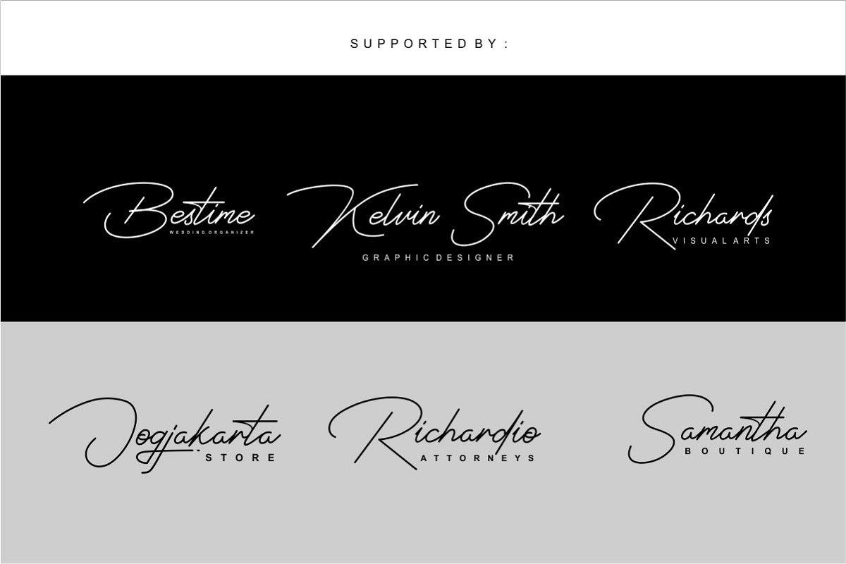 Signatrust Elegant Font - Befonts com
