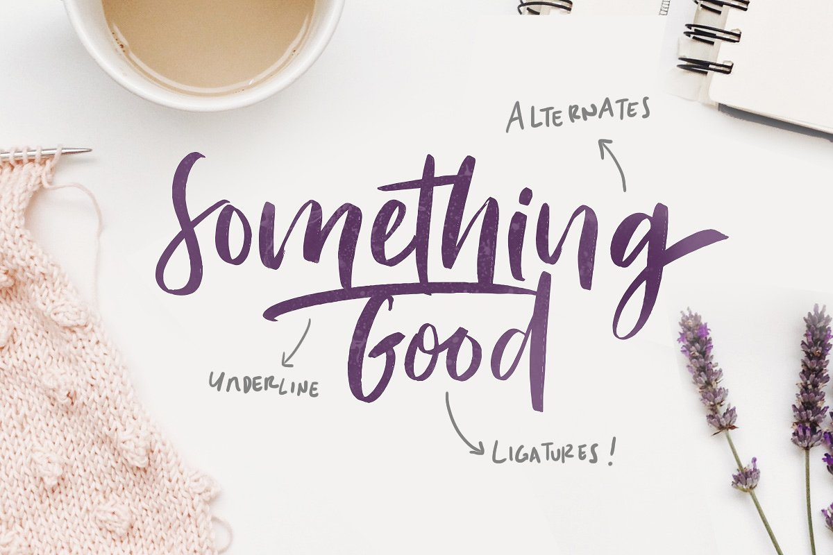 Bitter Rose Brush Font - Befonts com