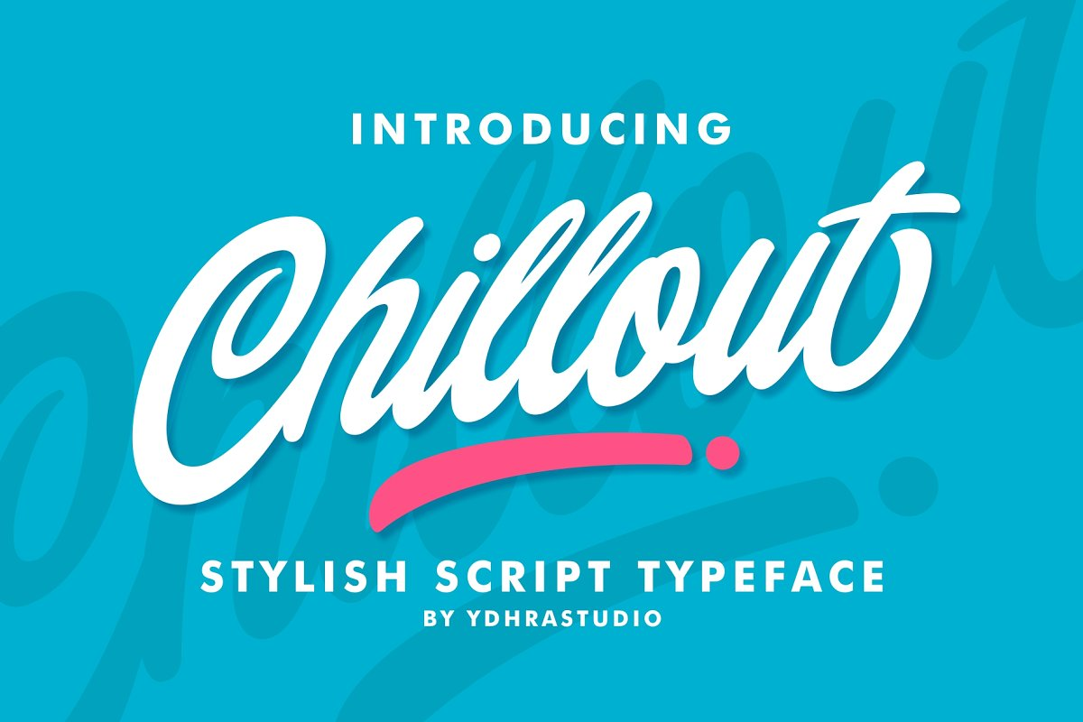 Chillout Free logo fonts