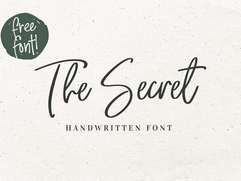 The Secret Script Font - Befonts com