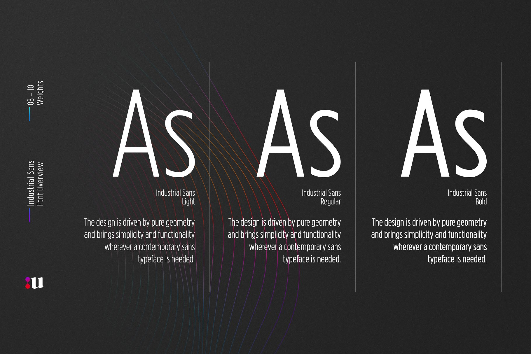 Industrial Sans Font Family - Befonts com