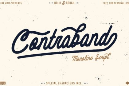 Contraband Font - Befonts - Download free fonts